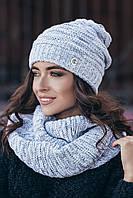 Снуд Рафинад (8 цв), женский снуд, снуды от производителя, шарф кольцо, дропшиппинг, фото 1