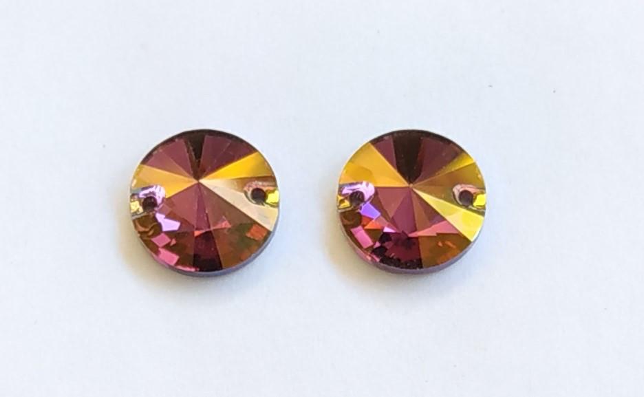 Rivoli 12mm Crystal Lilac Shadow