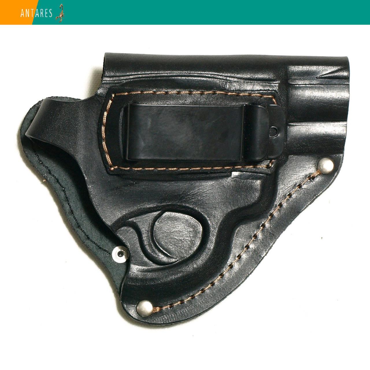 Кобура револьверы поясная натуральная кожа скрытое ношение (008)