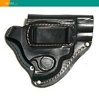 Кобура револьверы поясная натуральная кожа скрытое ношение (008), фото 1