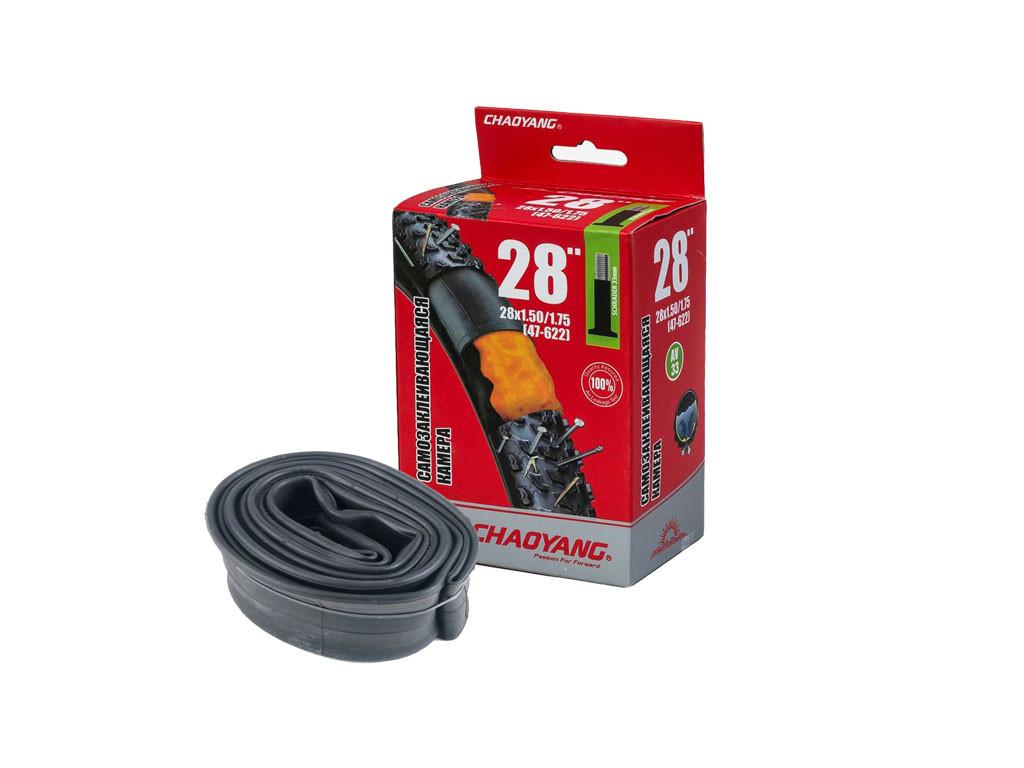 Велосипедная камера ChaoYang 28 x 1.75/2.1 (Schrader 48mm), антипрокол