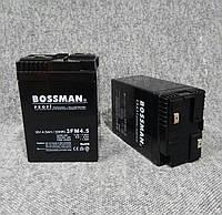 Аккумулятор Bossman 6V4.5ah без клем