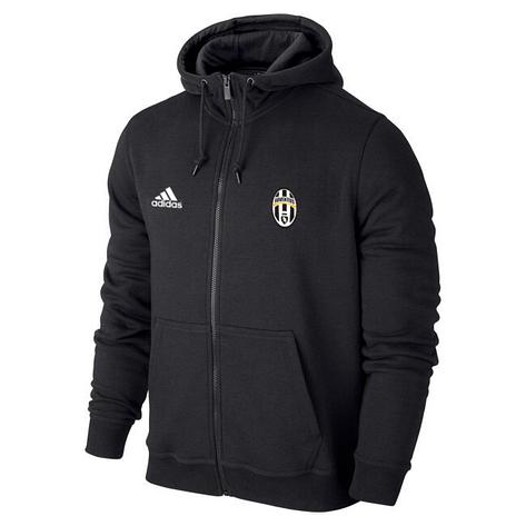 0a2dc11918137b Мужская спортивная толстовка (кофта) Ювентус-Адидас, Juventus, Adidas,  черная