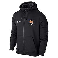 Мужская спортивная толстовка (кофта) Шахтер-Найк, Shakhtar, Nike, черная
