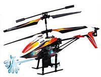 Вертолёт на пульте  и/к 3 канальный микро WL Toys V319 SPRAY водяная пушка