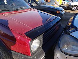 Дефлектор капота, мухобойка VW Golf-2 с 1983-1991 г.в. VIP