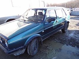 Дефлекторы окон (ветровики)  VW GOLF - II(HEKO)
