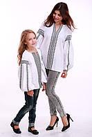 """Женская блузка, вышиванка  """"ДУМКА """" БЕЛАЯ КЛАСИЧЕСКАЯ  от 42 до 52 белого цвета машинная вышивка ,   купить"""
