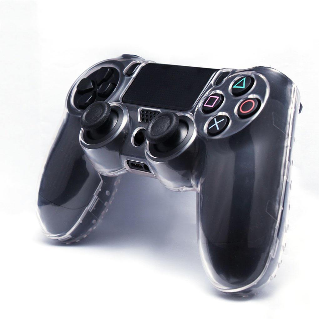 Пластиковый чехол для джойстика PS4 (Кристал)