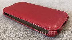 Чехол-флип BRUM для Fly IQ4406 (Красный), фото 3
