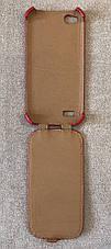 Чохол-фліп BRUM для Fly IQ4406 (Червоний), фото 2