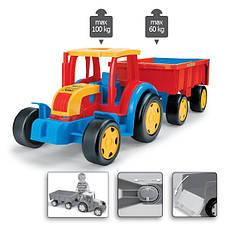 Трактор гигант с прицепом Wader 66100, фото 3