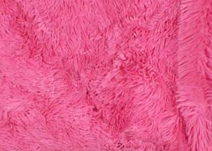 "Евро-макси покрывало-плед ""травка"" (240*220) - розовое, фото 2"