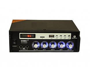 Усилитель звука Bluetooth караоке UKC SN-838BT