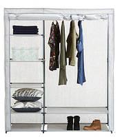 Сборный шкаф с тканевым чехлом 149х174см