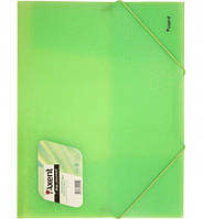 Папка Axent на резинках А4, прозрачные цвета 1501