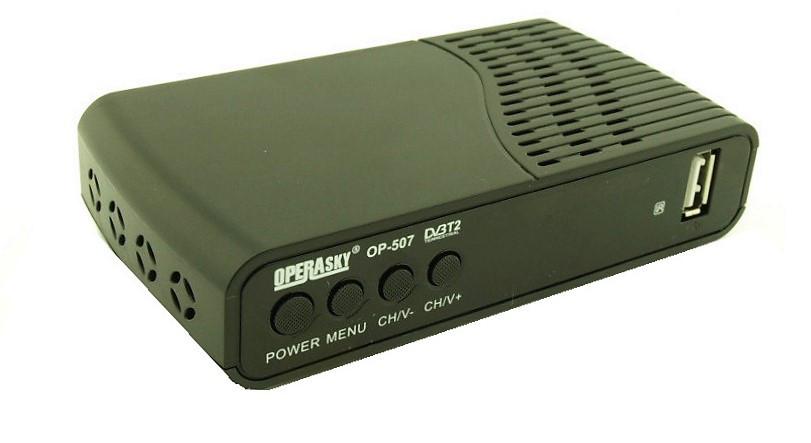 OPERASKY OP-507 HD - DVB-T2 Тюнер Т2, фото 1