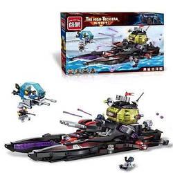 Конструктор Brick Enlighten 2719 Піратський катер Акула Cruiser 675 деталей ( Аналог Lego )
