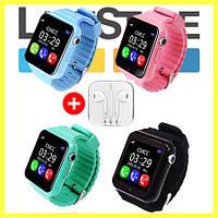 Умные детские смарт-часы Smart Baby Watch V7K + Подарок!