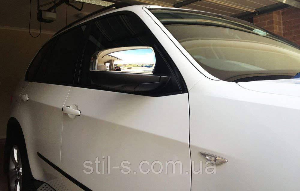 Накладки на зеркала BMW X-5 E-70 (2007-2012)