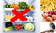 Какие продукты не должны храниться в холодильнике