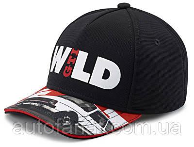 Детская бейсболка Volkswagen GTI Cap Wild, Black (5GB084300B)