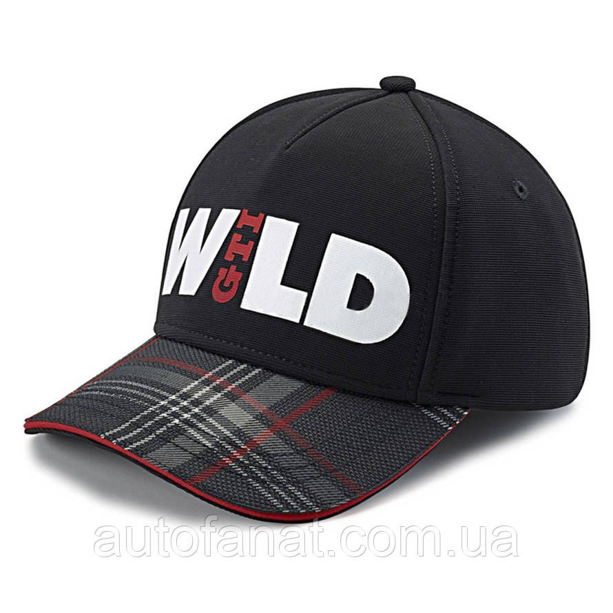 Оригинальная б ейсболка Volkswagen GTI Cap Wild, Black (5GB084300A)