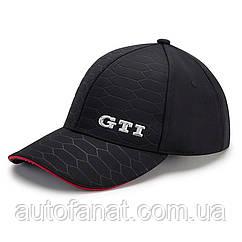 Оригинальная бейсболка Volkswagen GTI Baseball Cap, Cell Structure, Black (000084300AD041)