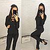 Костюм двойка штаны и кофта со шнуровкой, фото 2