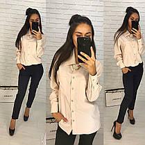 Костюм классический офисный штаны и блуза, фото 3