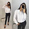 Костюм классический офисный штаны и блуза, фото 5