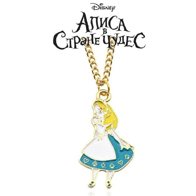 Кулон Алиса в стране чудес Alice in a Wonderland