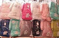 Детский зимний комплект 3 в 1 (конверт, куртка, комбинезон). Оптом