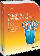 Офисное приложение Microsoft Office Home and Business 2010 32/64Bit Russian DVD (T5D-00412) карта