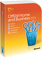 Офисное приложение Microsoft Office Home and Business 2010 32-bit/ x64 Ukrainian DVD BOX (T5D-00186)