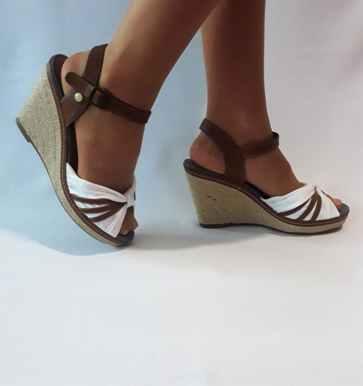 d07b057117ae Женские босоножки фирмы tom tailor(эспадрильи) Германия. - Интернет магазин  обуви MARKA-