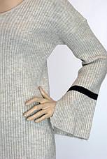 Жіноча кофта з рукавами воланами  , фото 2