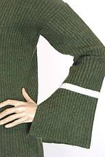 Жіноча кофта з рукавами воланами  , фото 3