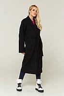 """Пальто женское кашемировое демисезонное с внутренним потайным поясом """"Синди"""", фото 1"""