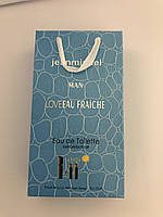 Мини парфюм в подарочной упаковке jeanmishel Man loveEau Fraiche 45мл