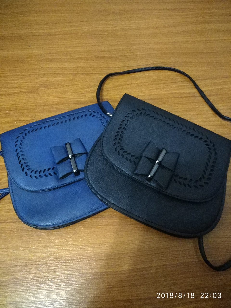 Женская сумочка синего цвета