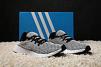Мужские кроссовки Adidas Deerupt Runner Black/White 41