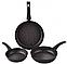 Набор мраморных сковородок EDENBERG EB-1731 3 предмета 20, 24, 28 см, фото 3