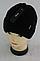 Шапка мужская вязаная зима, флис м 6118, разные цвета, фото 2
