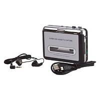 Кассетный плеер, кассетник, оцифровка записей, USB 2000-02923