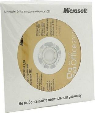 Офисное приложение Microsoft Office Home and Business 2010 Russian CEE ОЕМ (T5D-01549)