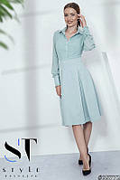 Оригинальное деловое платье размеры S-ХL, фото 1