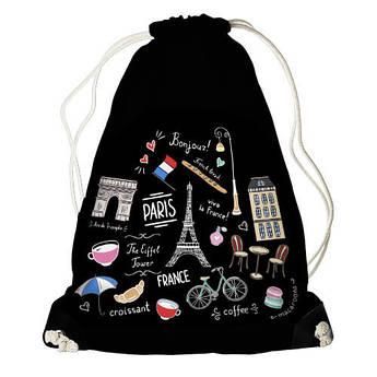 Рюкзак мешок Париж