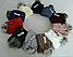 Комплект шапка с бубоном и шарф-хомут зимний м 6136, разные цвета, фото 3