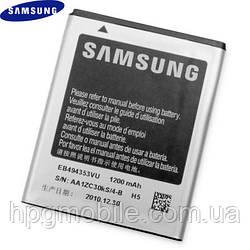 Аккумулятор (АКБ, батарея) EB494353VU для Samsung C6712, S5250 и др., 1200 mAh, оригинал